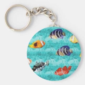Carry key fish keychain