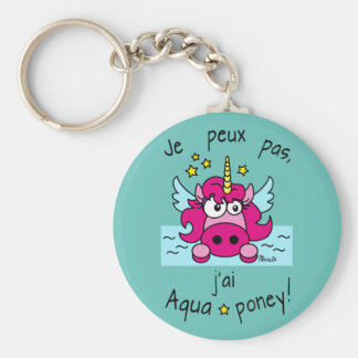 Carry key Licorne, Aquaponey Keychain