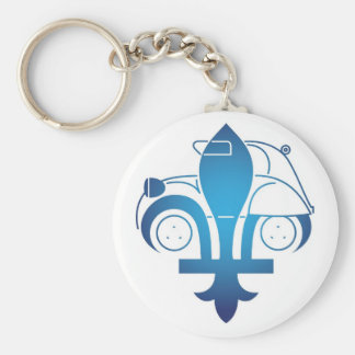 Carry-key logo forum citroen2cvquebec keychain