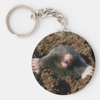 Carry-key Mole Keychain