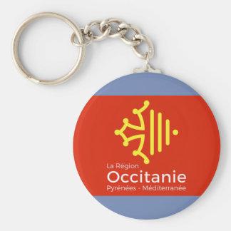 """carry-key """"Occitanie"""" France Keychain"""