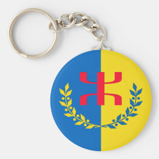 Carry key of the MAK Basic Round Button Keychain
