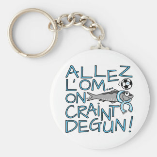 Carry-key Sardine, GO OM, FOOT, Marseilles Keychain