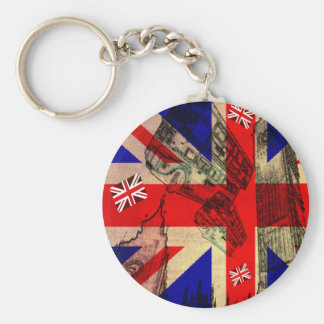 Carry-key the U.K. FLAG Keychain