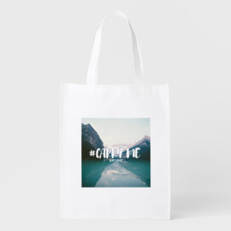 #CARRY ME LAKE LOUISE GROCERY BAG
