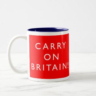 Carry On Britain - TwoTone Mug