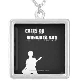 Carry On Wayward Son Silver Plated Necklace