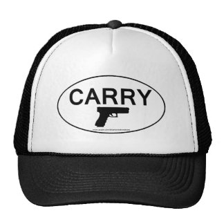 CARRY Oval Sticker Hat