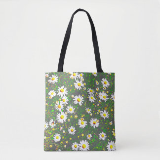 Carrying bag with the Greens goose little flower