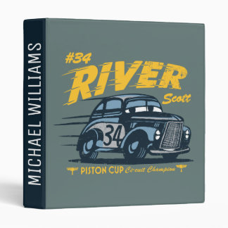 Cars 3 | #34 River Scott 3 Ring Binder
