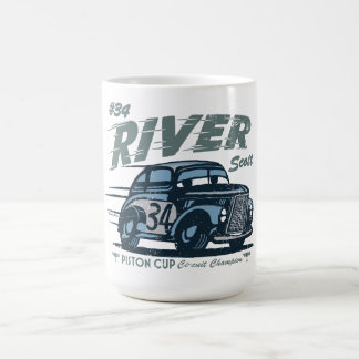 Cars 3 | #34 River Scott Coffee Mug