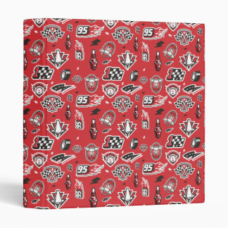 Cars 3 | 95 Lightning McQueen Speed Pattern 3 Ring Binder