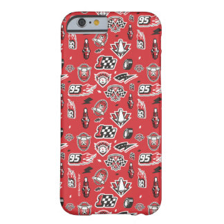 Cars 3 | 95 Lightning McQueen Speed Pattern Barely There iPhone 6 Case
