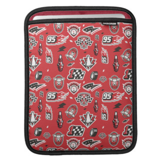Cars 3 | 95 Lightning McQueen Speed Pattern iPad Sleeve