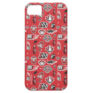 Cars 3 | 95 Lightning McQueen Speed Pattern iPhone 5 Cover