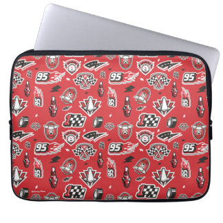 Cars 3 | 95 Lightning McQueen Speed Pattern Laptop Sleeve