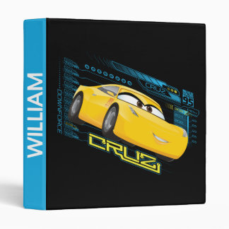 Cars 3 | Cruz Control Vinyl Binder