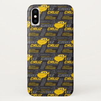 Cars 3 | Cruz Ramirez - Cruz to Victory Pattern iPhone X Case