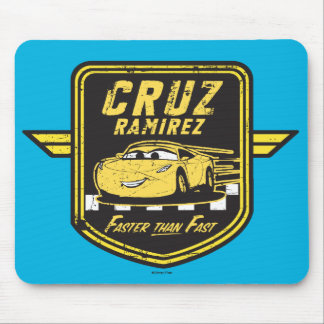Cars 3 | Cruz Ramirez - Faster than Fast Mouse Pad