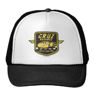 Cars 3   Cruz Ramirez - Faster than Fast Trucker Hat
