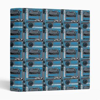Cars 3 | Jackson Storm - Storming Through Pattern Binders