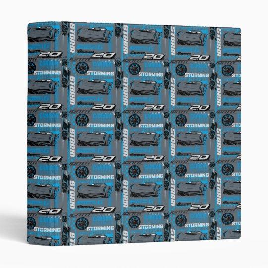 Cars 3   Jackson Storm - Storming Through Pattern Binders