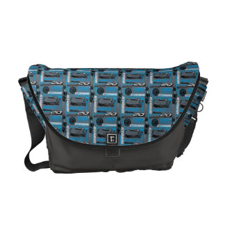 Cars 3 | Jackson Storm - Storming Through Pattern Commuter Bags