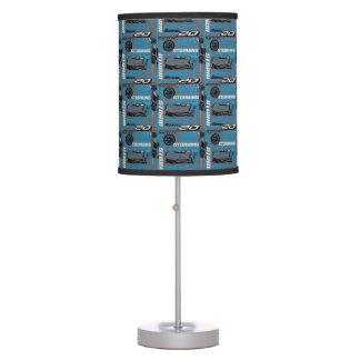 Cars 3 | Jackson Storm - Storming Through Pattern Desk Lamp