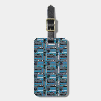 Cars 3 | Jackson Storm - Storming Through Pattern Luggage Tag