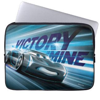 Cars 3 | Jackson Storm - Victory is Mine Laptop Sleeve