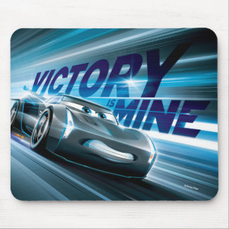 Cars 3 | Jackson Storm - Victory is Mine Mouse Pad