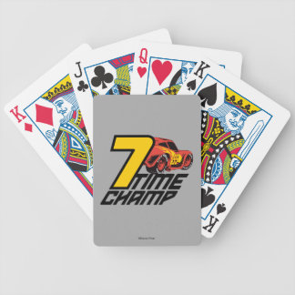 Cars 3 | Lightning McQueen - 7 Time Champ Bicycle Playing Cards