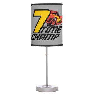 Cars 3 | Lightning McQueen - 7 Time Champ Desk Lamps