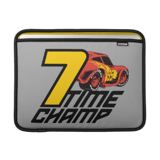 Cars 3 | Lightning McQueen - 7 Time Champ MacBook Sleeve
