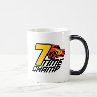 Cars 3 | Lightning McQueen - 7 Time Champ Magic Mug