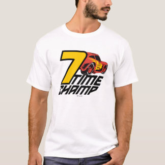Cars 3 | Lightning McQueen - 7 Time Champ T-Shirt