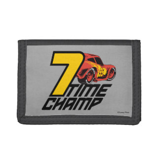 Cars 3 | Lightning McQueen - 7 Time Champ Trifold Wallets