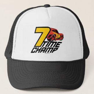 Cars 3 | Lightning McQueen - 7 Time Champ Trucker Hat