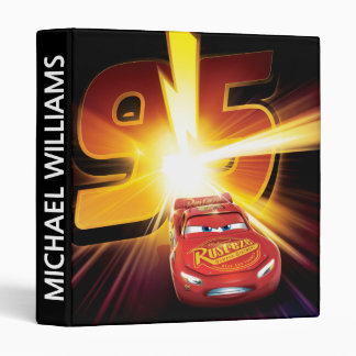 Cars 3 | Lightning McQueen 95 3 Ring Binders