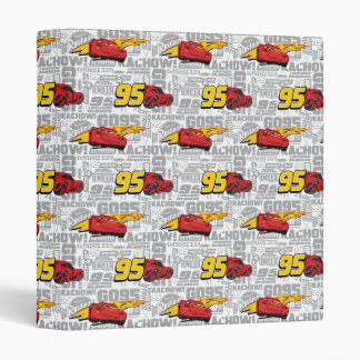 Cars 3 | Lightning McQueen 95 Pattern 3 Ring Binders
