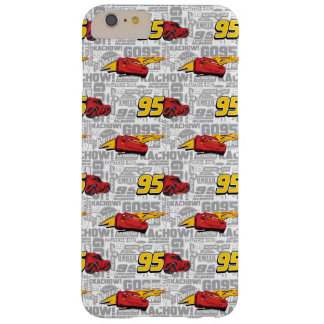 Cars 3 | Lightning McQueen 95 Pattern Barely There iPhone 6 Plus Case