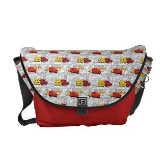 Cars 3 | Lightning McQueen 95 Pattern Messenger Bags