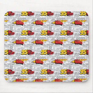 Cars 3 | Lightning McQueen 95 Pattern Mouse Pad