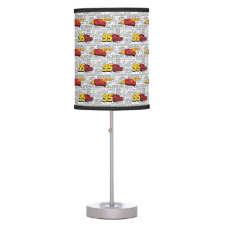Cars 3 | Lightning McQueen 95 Pattern Table Lamp