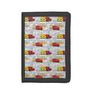 Cars 3 | Lightning McQueen 95 Pattern Trifold Wallets