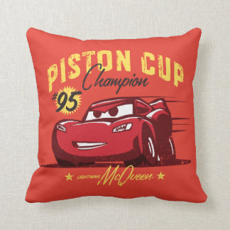 Cars 3 | Lightning McQueen - #95 Piston Cup Champ Throw Pillow