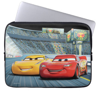 Cars 3 | Lightning McQueen & Cruz Ramirez Laptop Sleeve