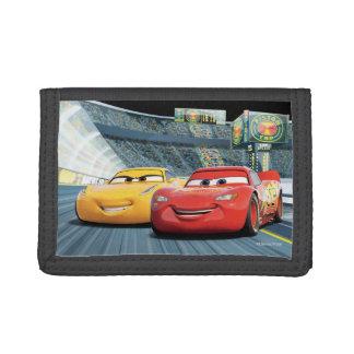 Cars 3 | Lightning McQueen & Cruz Ramirez Tri-fold Wallet