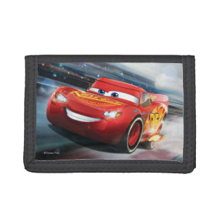 Cars 3 | Lightning McQueen - Full Throttle Tri-fold Wallet