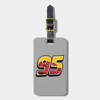 Cars 3 | Lightning McQueen Go 95 Luggage Tag